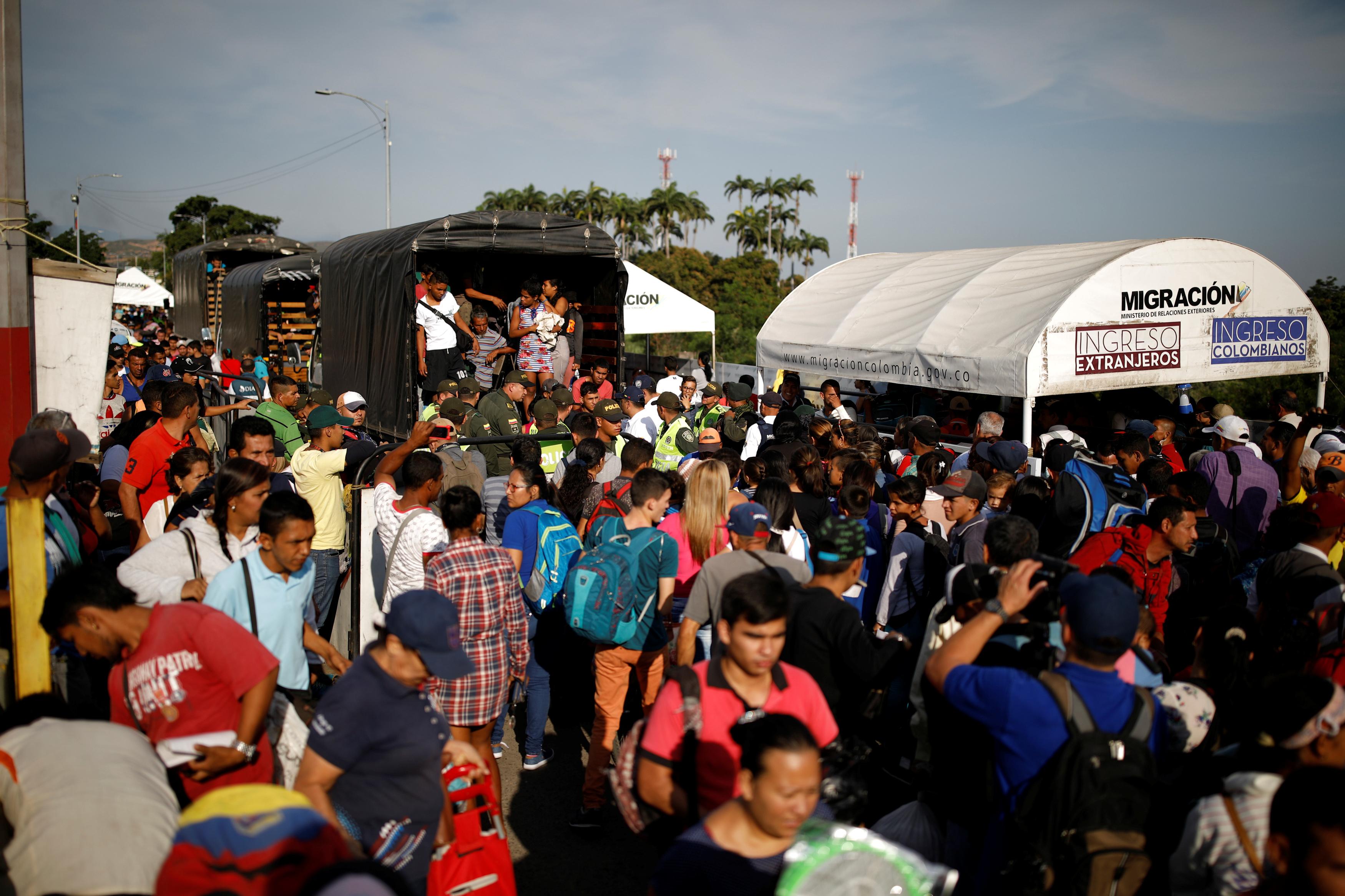 Migración de venezolanos crece a 3 millones de personas