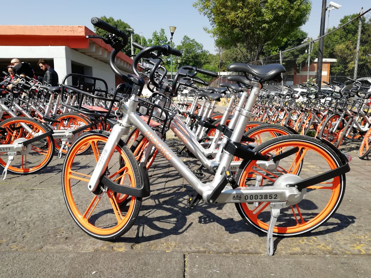 Mobike presenta sus bicicletas en la Ciudad de México