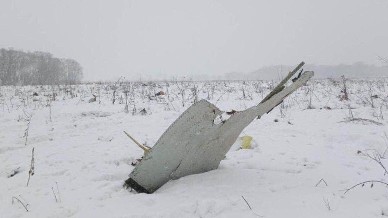 Rusia busca pistas sobre avionazo en las afueras de Moscú