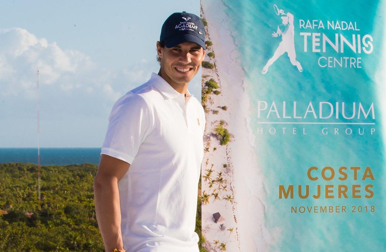 El primer Rafa Nadal Tennis Centre del mundo abrirá en Cancún