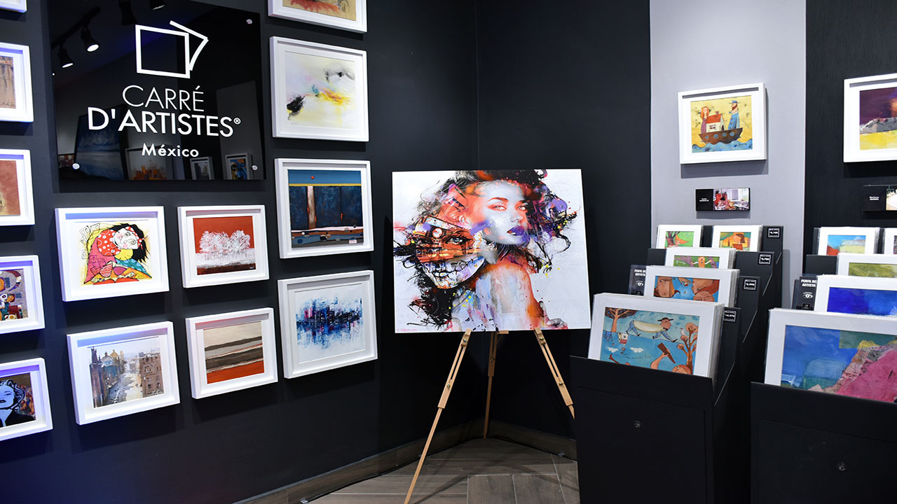 Carrer D' Artistes, la galería de arte donde tocar es imperativo