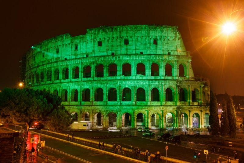 Coliseo, Roma, San Patricio