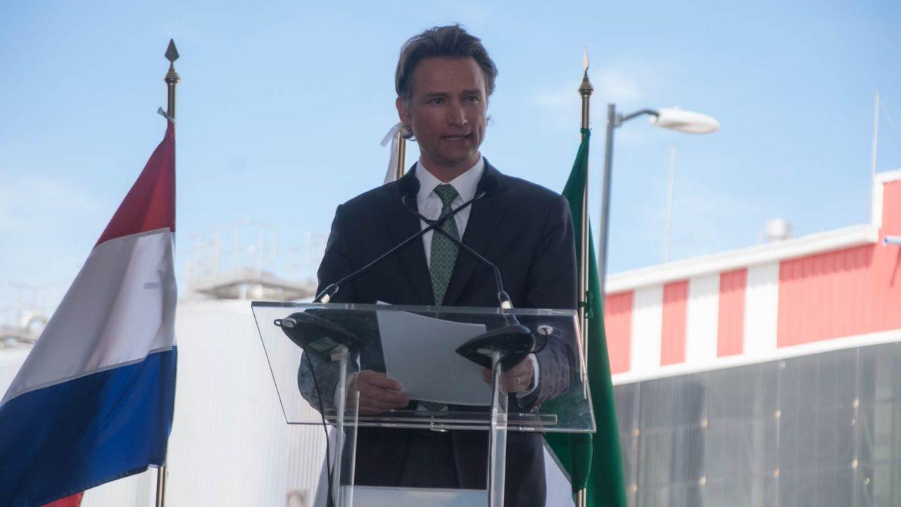 Dolf van den Brink, CEO Heineken México. (Foto: Angélica Escobar).