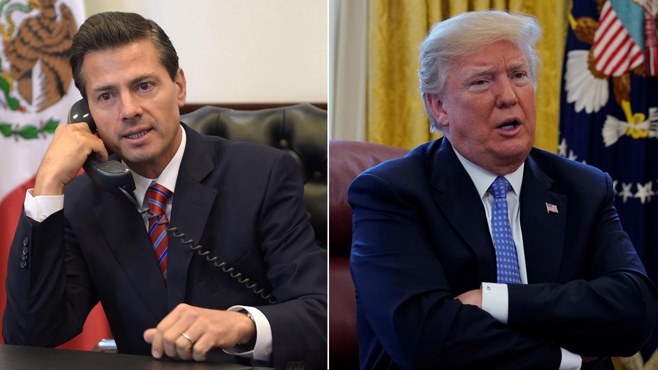 Trump y Peña reiteran compromiso por desahogar agenda bilateral