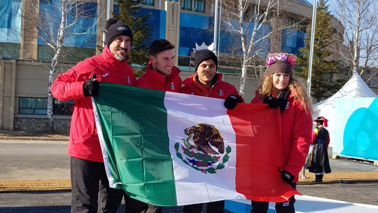 Hoy inicia participación de México en Juegos Olímpicos de Invierno