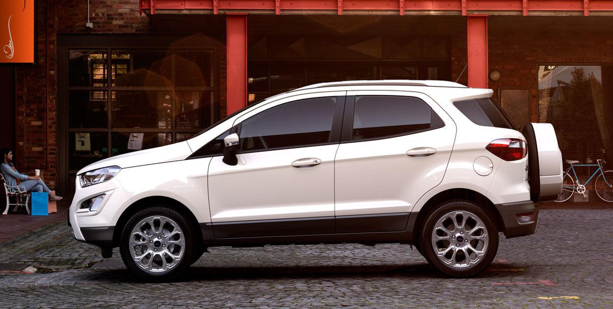 Ford presenta versión Titanium de la EcoSport 2018