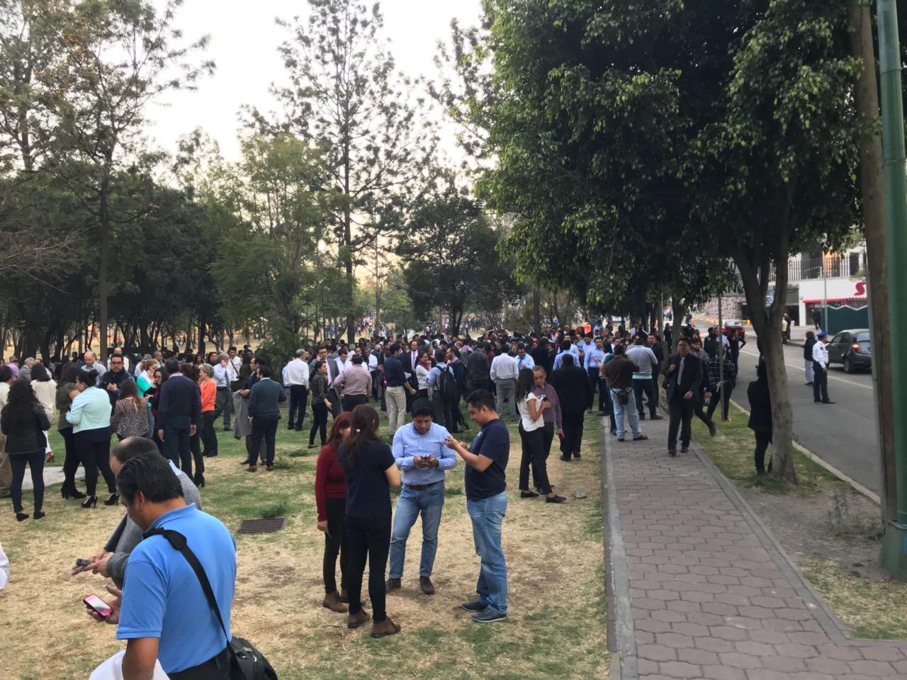 Se registra temblor en la Ciudad de México