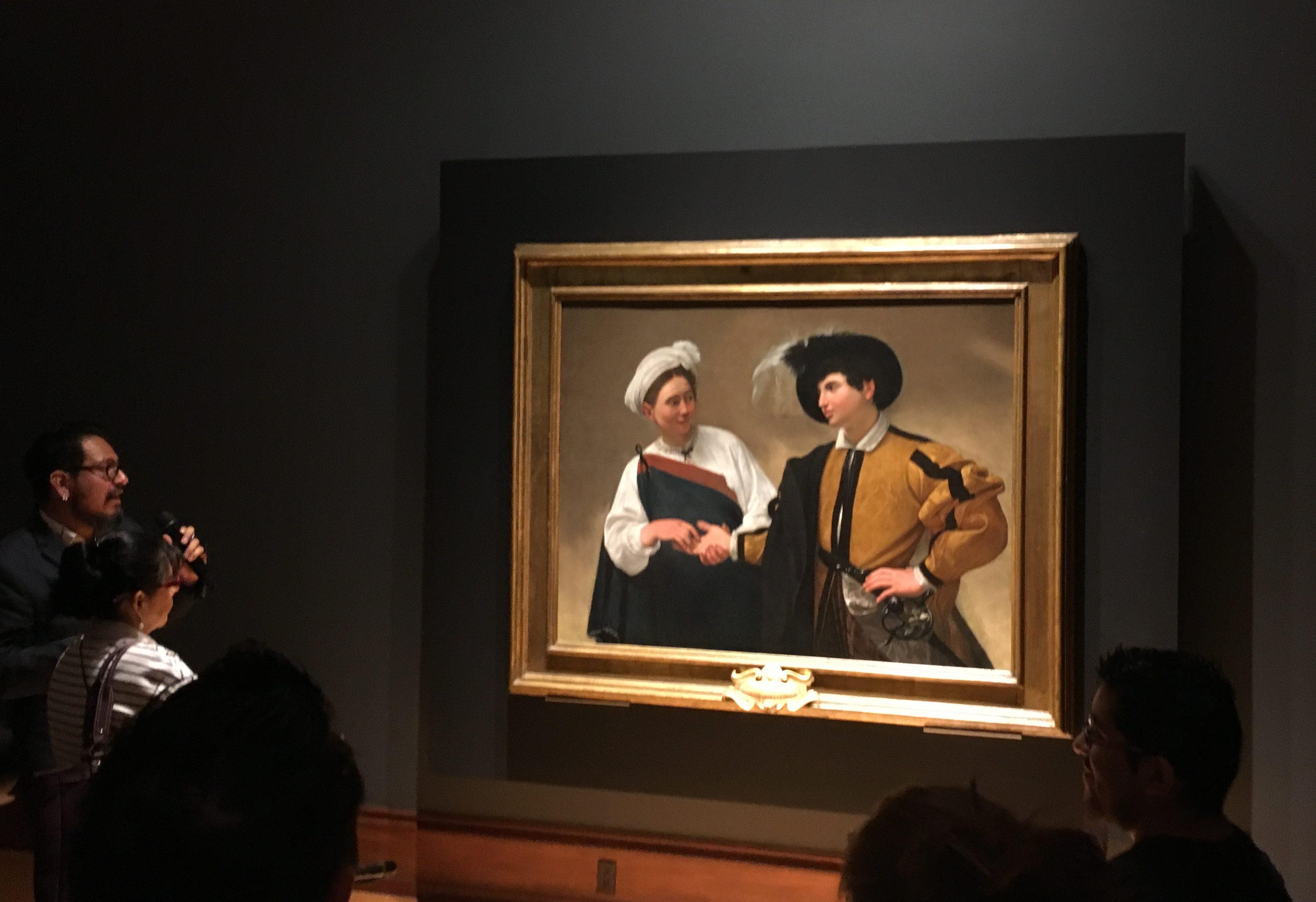 Caravaggio llega a la Ciudad de México y se instala en el Munal