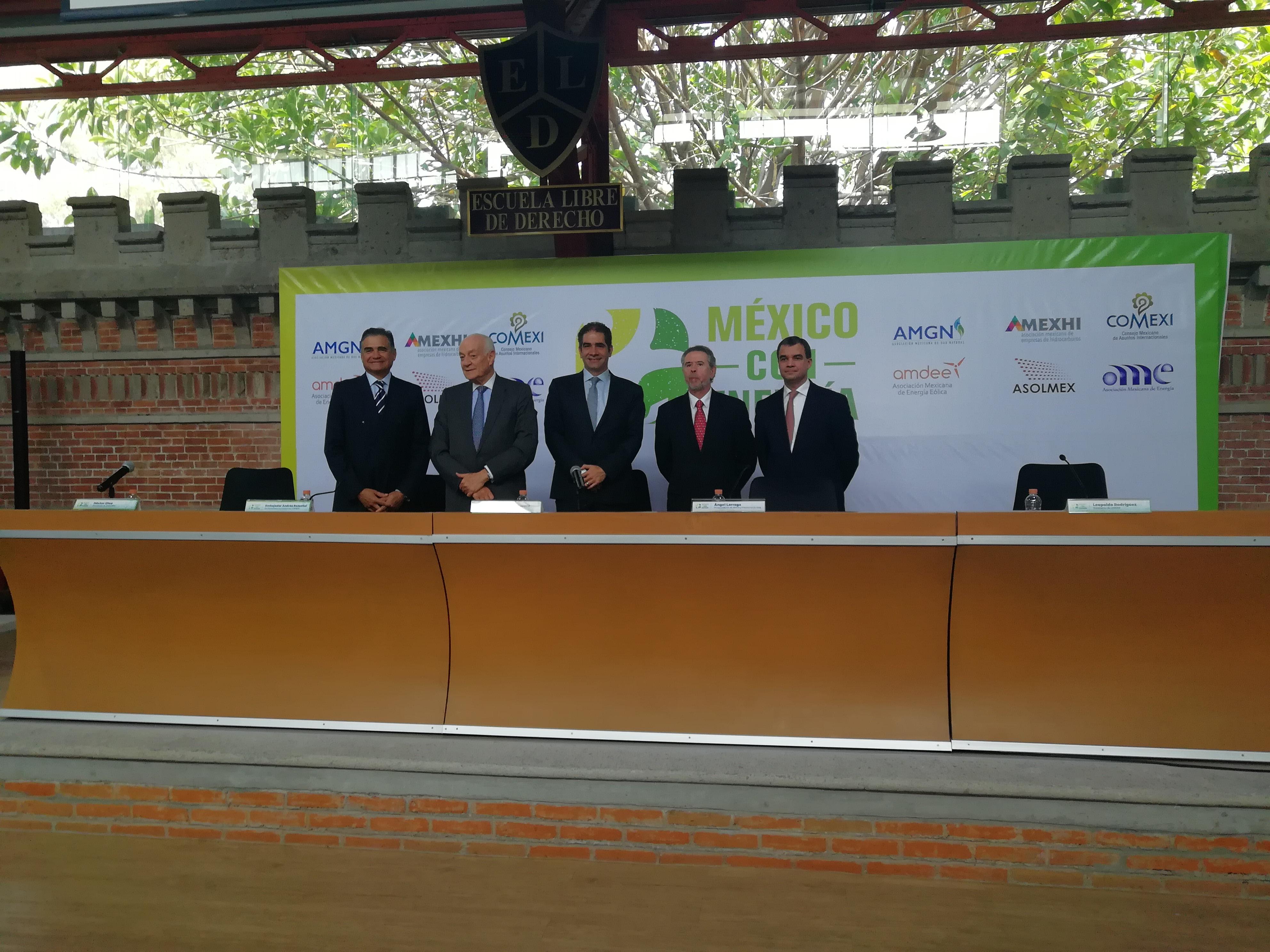 Reforma energética debe continuar sin importar quien sea el presidente: Amexhi