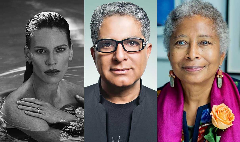 Hilary Swank, Deepak Chopra y Alice Walker inaugurarán Liberatum México