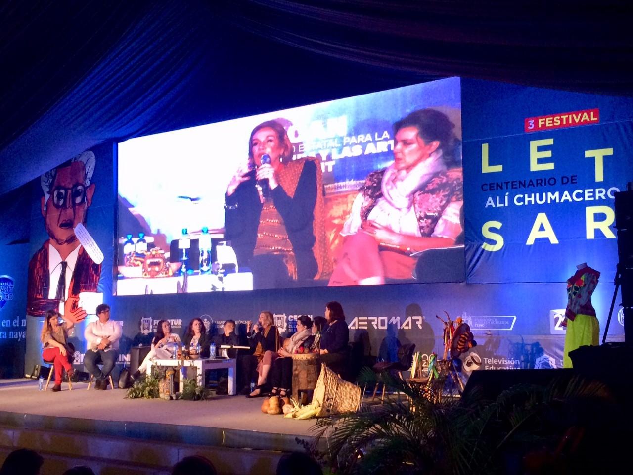 Guadalupe Loaeza, literatura, cultura, Festival Letras en Tepic