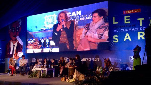 Guadalupe Loaeza, literatura, cultura, Festival Letras en Nayarit