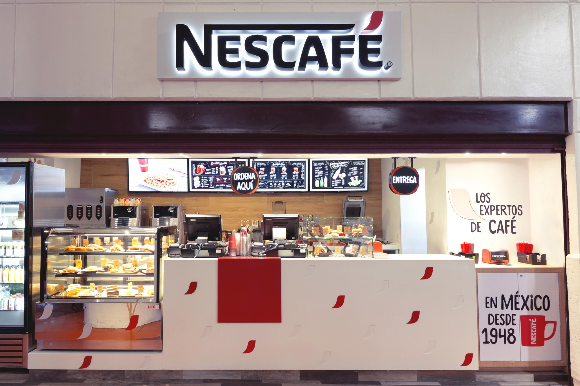 Nescafé aprieta con sus cafeterías y quiere llegar a 20 para ganar mercado