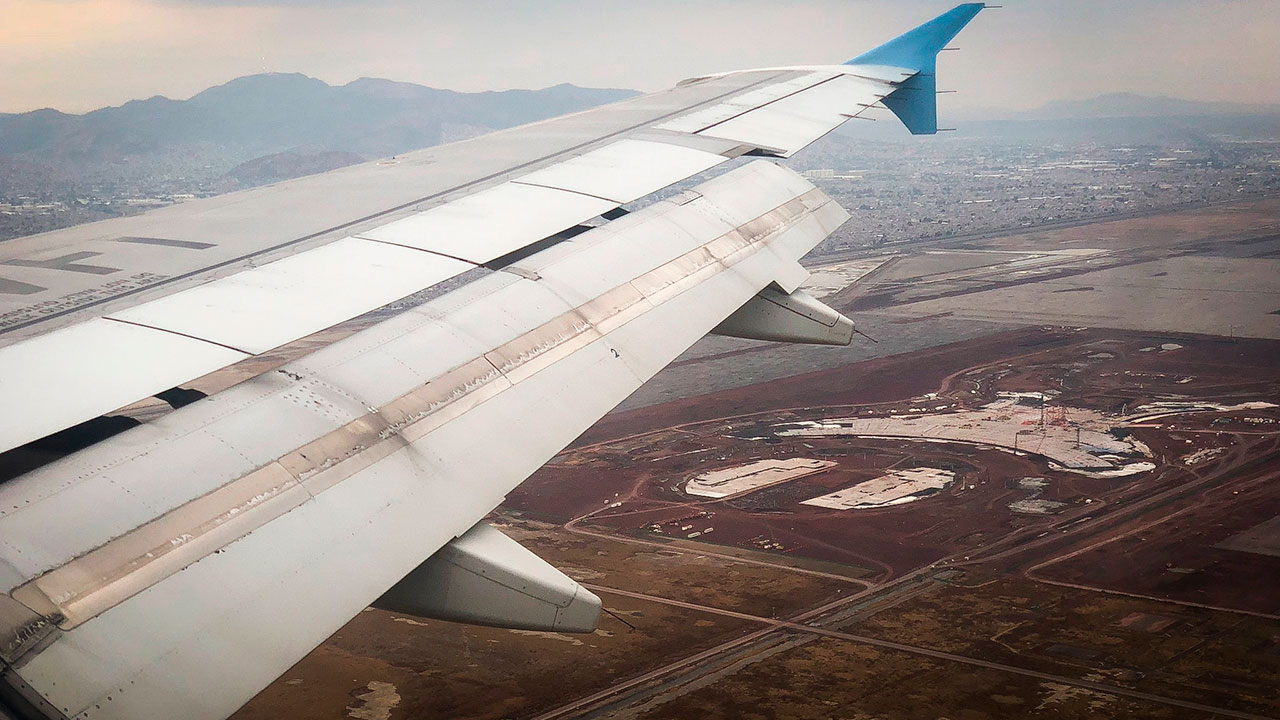 Reportan incidente en el aeropuerto de Toluca