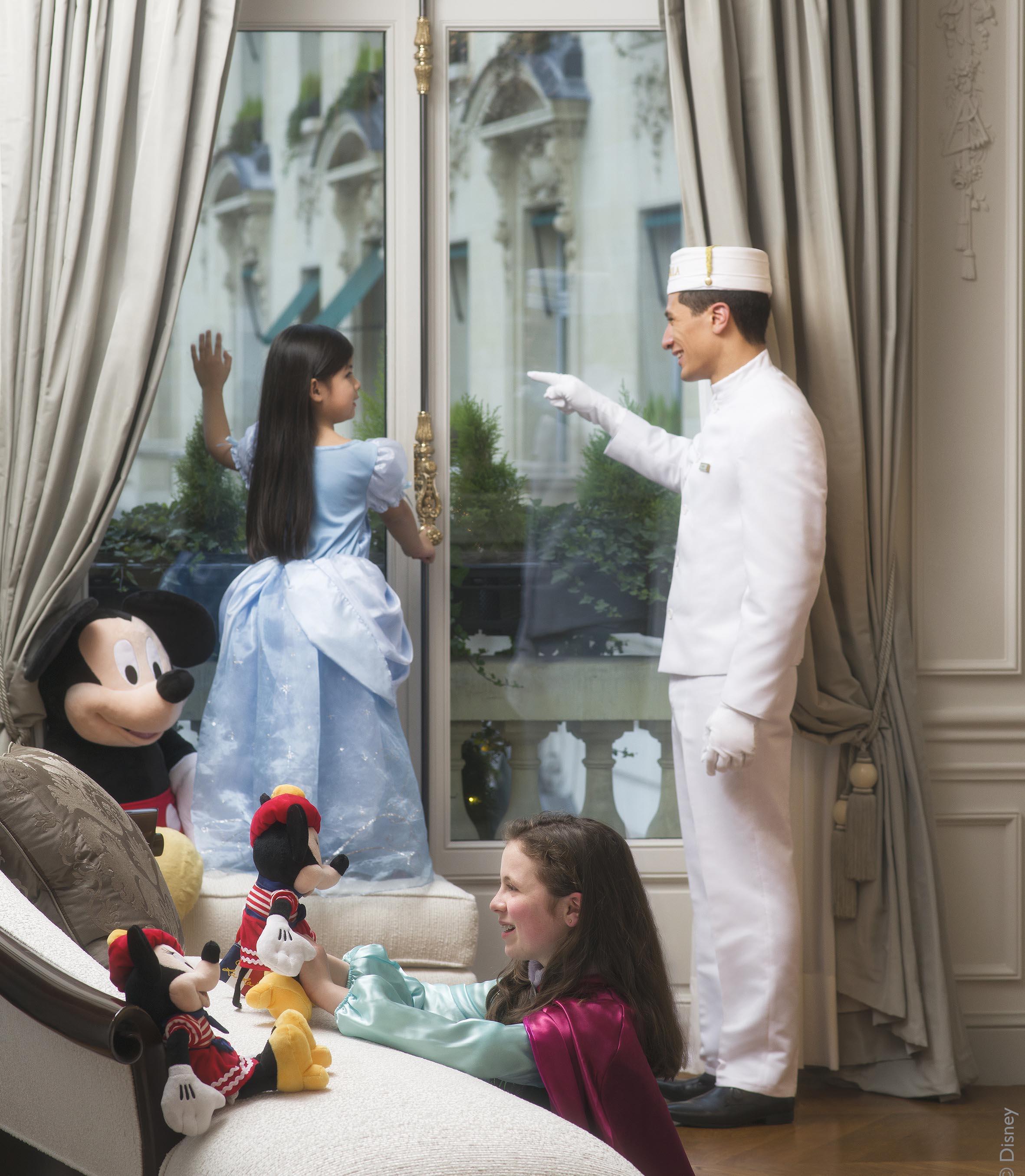 The Peninsula Paris, Disney, Walt Disney