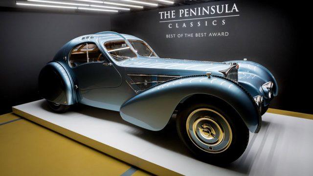 The Peninsula, auto, lujo, clásico, Bugatti