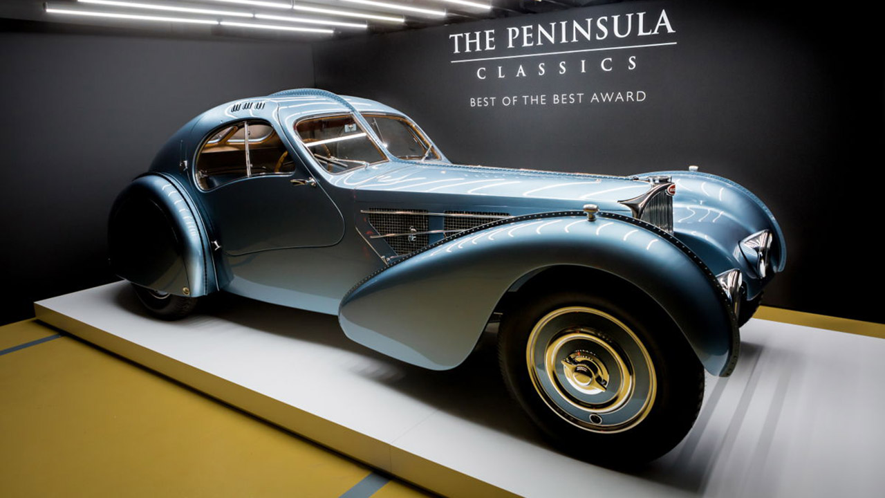 Bugatti, ganador del premio al mejor auto clásico del mundo