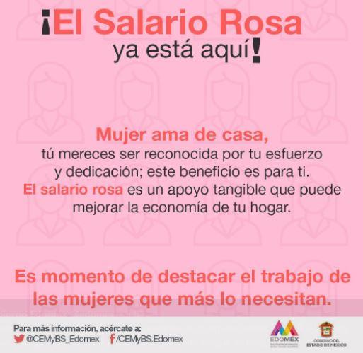 Alfredo del Mazo celebra inicio del programa Salario Rosa