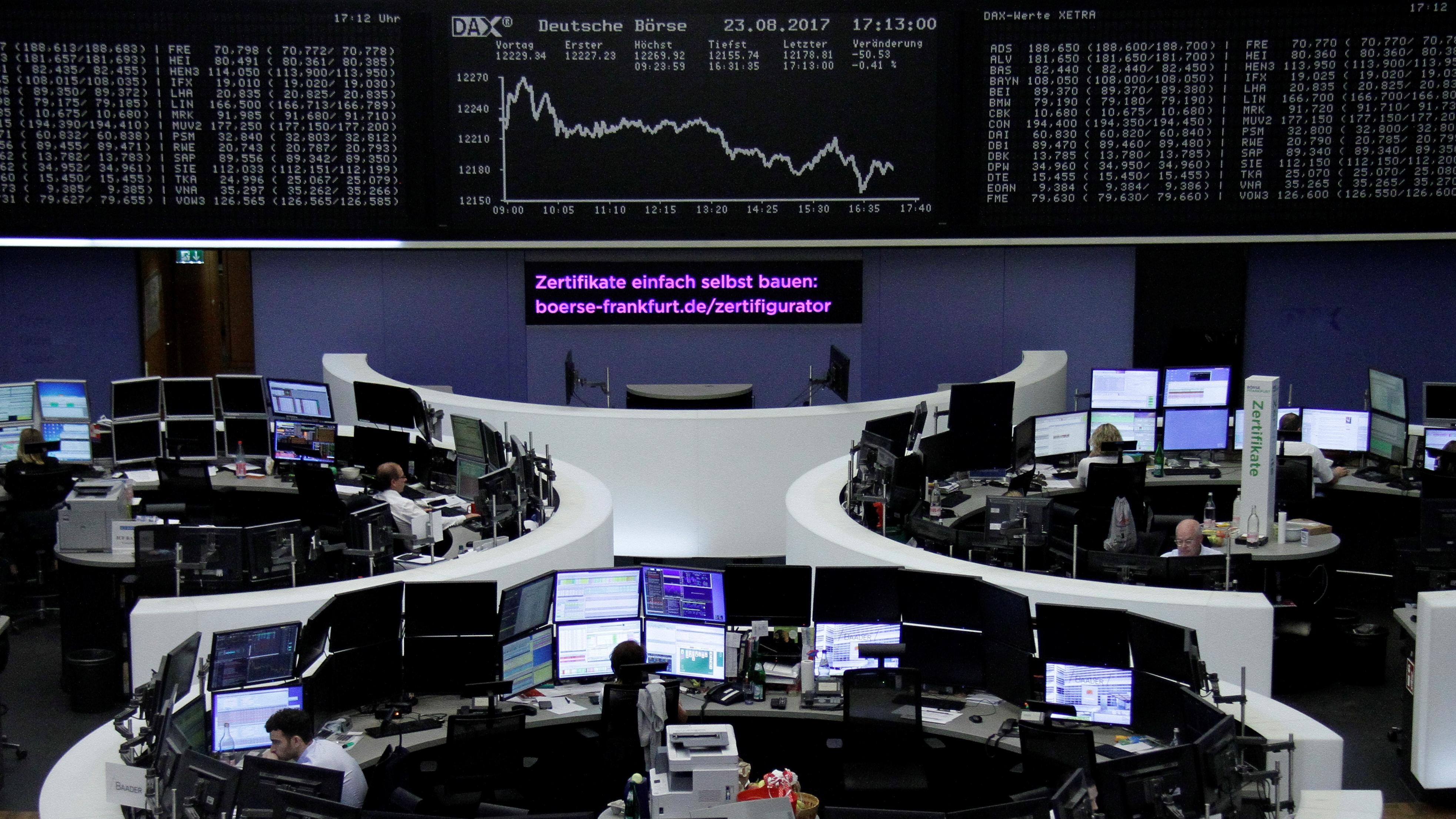 Decisión del BCE hacer caer a los mercados europeos