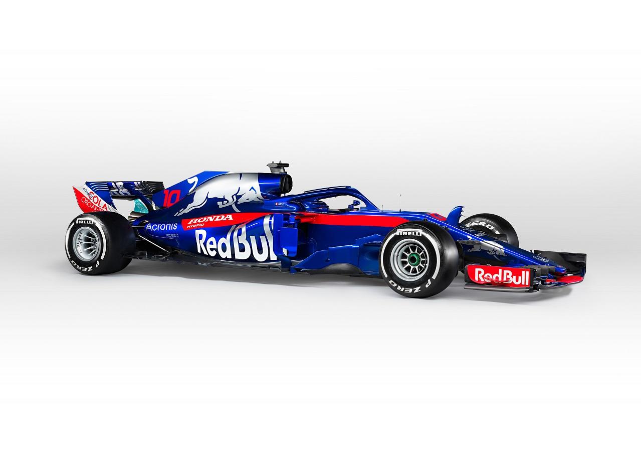 Red Bull Toro Rosso Honda presenta su nuevo auto para la Fórmula 1