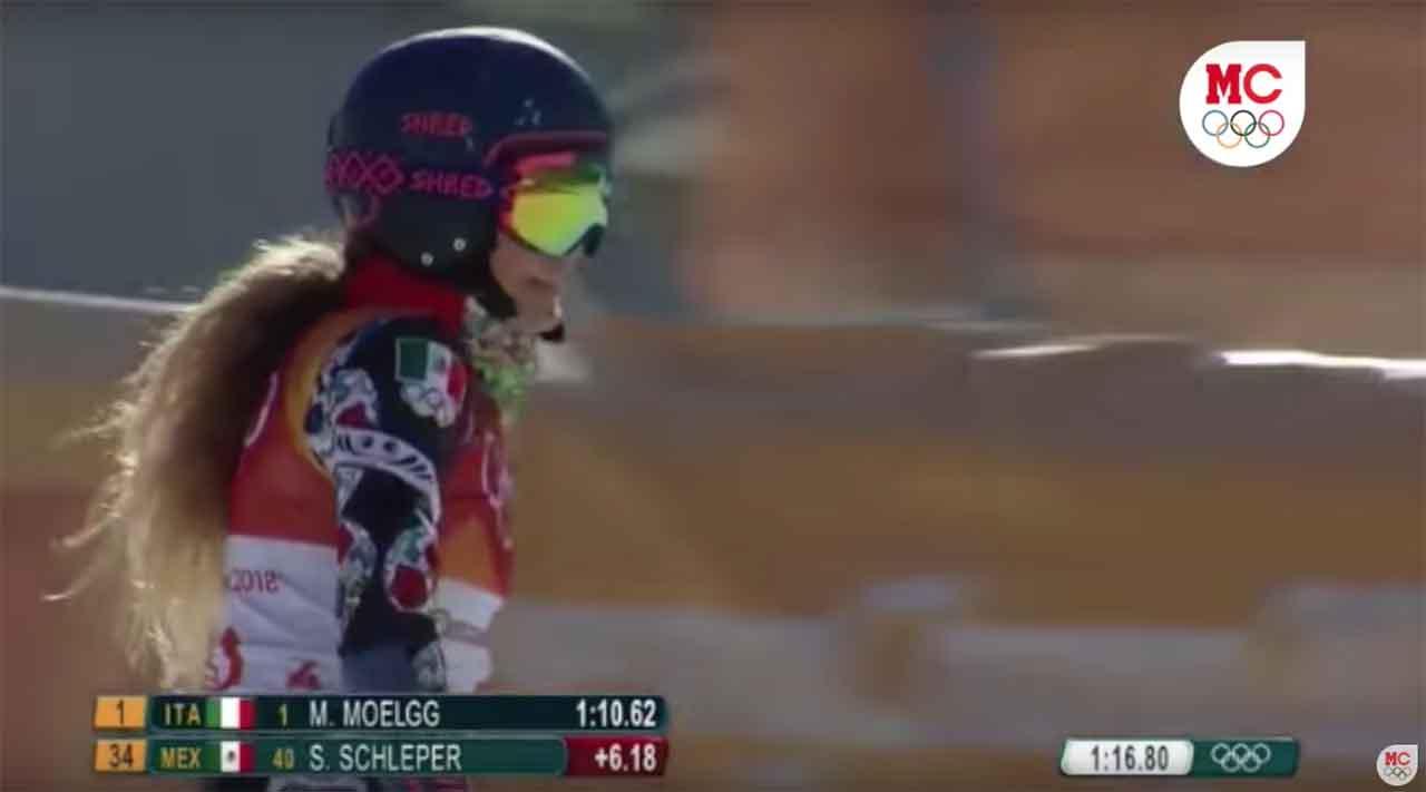 Termina sueño olímpico de Sarah Schleper en PyeongChang 2018