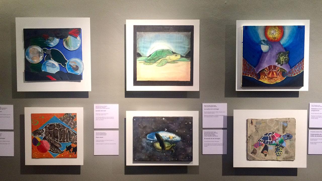 """Inauguran la exposición """"Pequeñas navegantes"""" en el Museo Soumaya"""