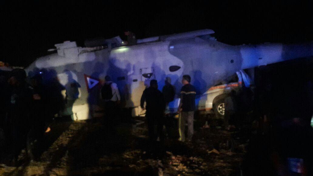 Fiscalía de Oaxaca confirma 13 muertos tras accidente del helicóptero