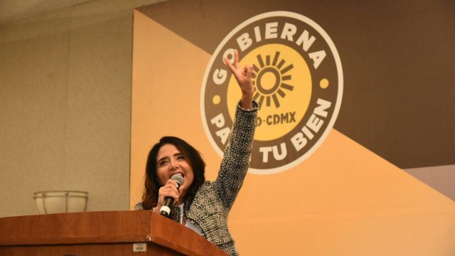 Barrales, candidata oficial del PRD al gobierno de la CDMX