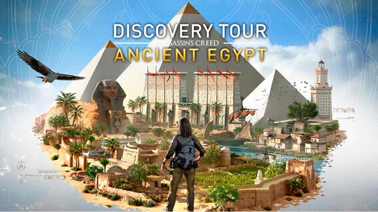 Éste videojuego te da una visita guiada por el Egipto de Cleopatra