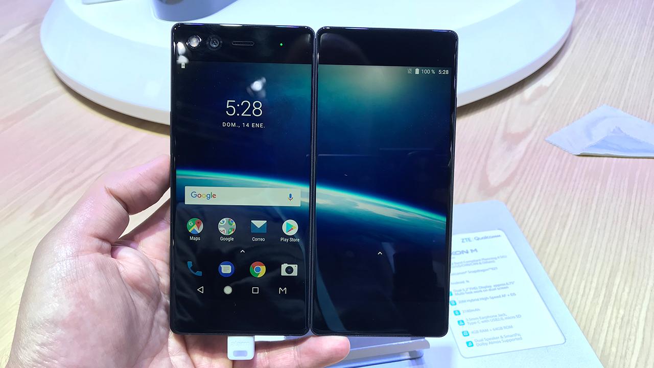 MWC | Probamos el smartphone plegable con dos pantallas de ZTE