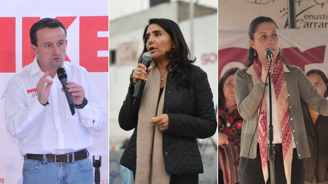 Barrales y Arriola inician acusaciones en el primer debate de la CDMX