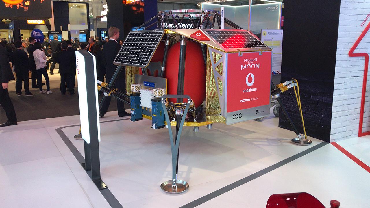 MWC | La Luna tendrá su primera red 4G en 2019