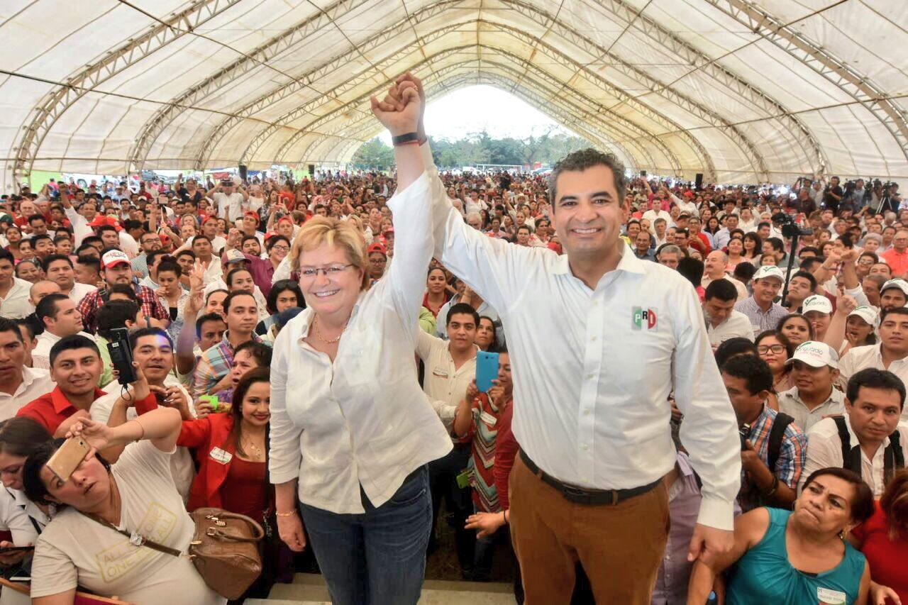 "Enrique Ochoa llama ""prietos"" a militantes de Morena"