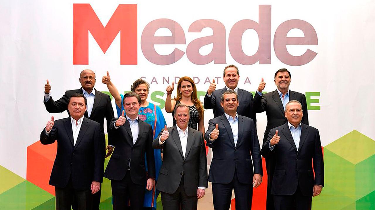 Meade recurre a veteranos del PRI para reforzar su campaña