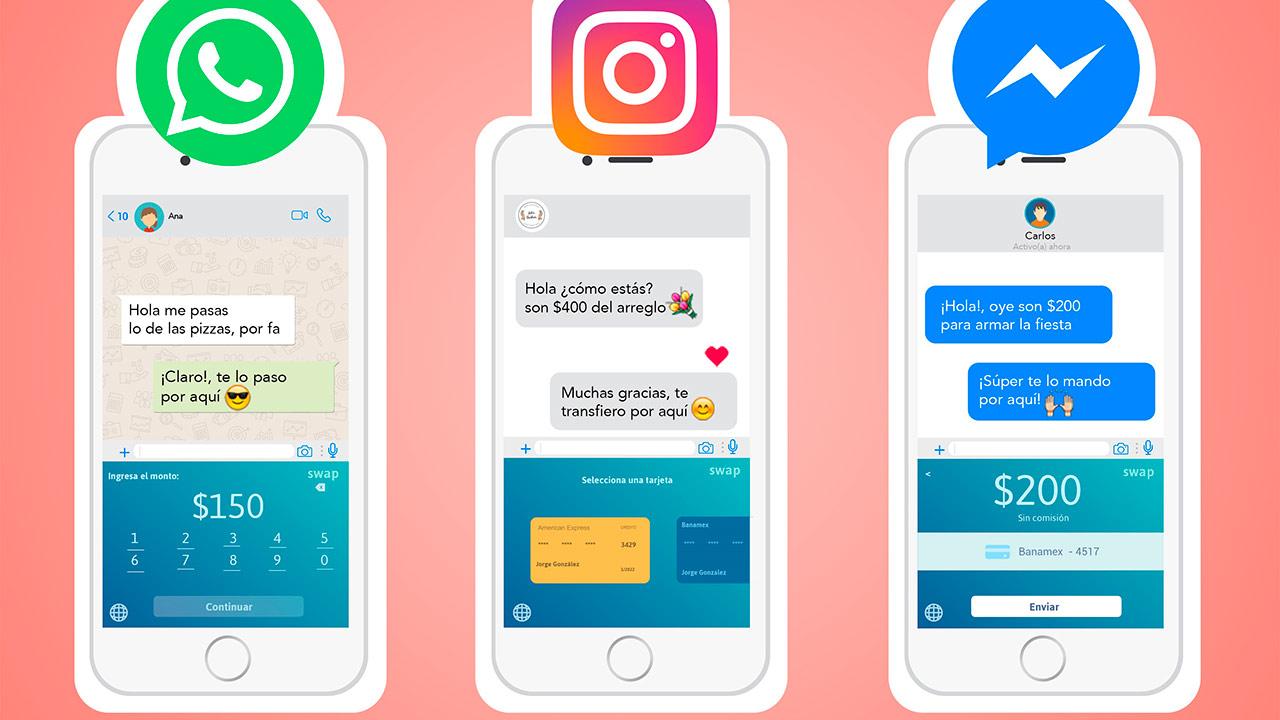 Ya es posible realizar pagos por WhatsApp a través de Swap