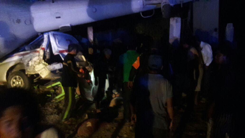 Se desploma helicóptero donde viajaba el secretario de Gobernación