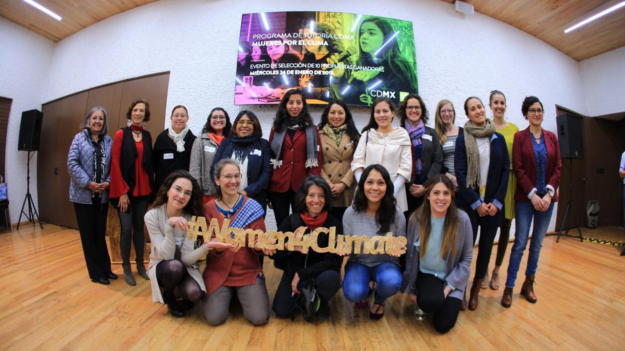 10 mujeres luchan por rescatar a la CDMX del cambio climático