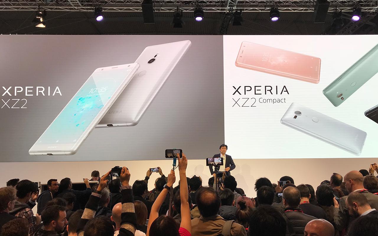 MWC | Sony presenta sus nuevos teléfonos, listos para 4K y HDR