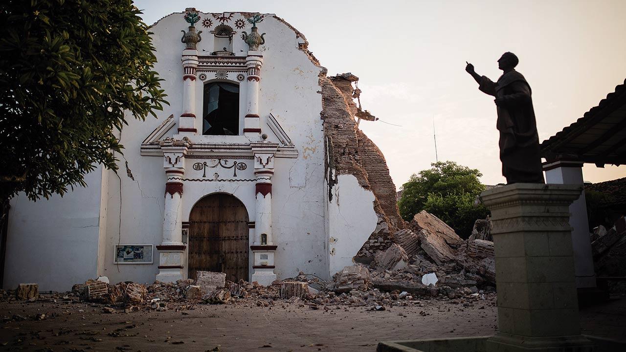 No alcanza el seguro para reconstruir templos afectados por el 19-S