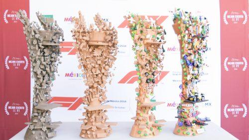 El trofeo de la Fórmula 1 tiene alma mexicana