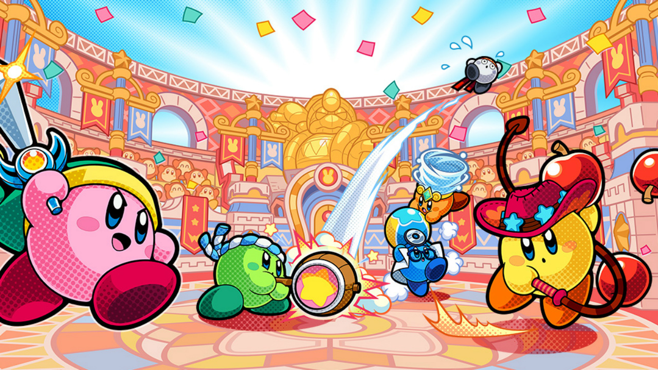 Kirby Battle Royale para consola Nintendo 3DS