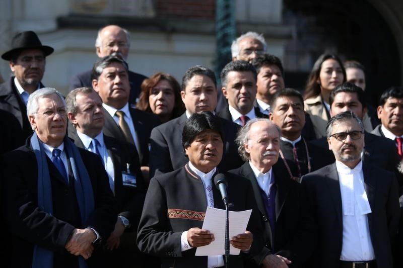 """Evo Morales califica de """"intervencionismo"""" ayuda de EU a Venezuela"""