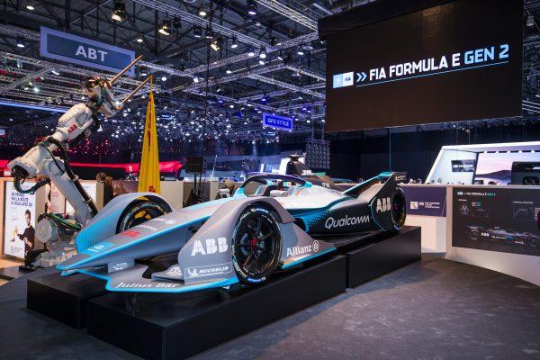Revelan el auto de nueva generación de la Formula E en Ginebra