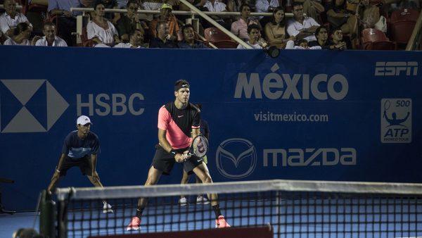Se definen las semifinales del Abierto Mexicano de Tenis