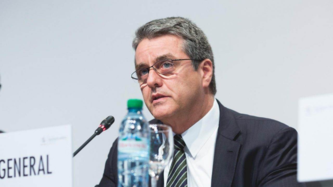 Jefe de la OMC pide calma para evitar choque comercial