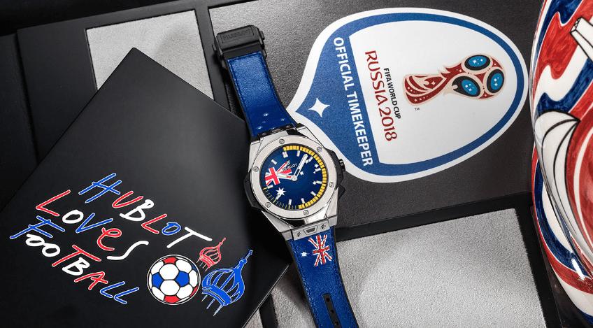 20c53fe3d9b7 Hublot presenta un reloj inspirado en el Mundial de Rusia 2018