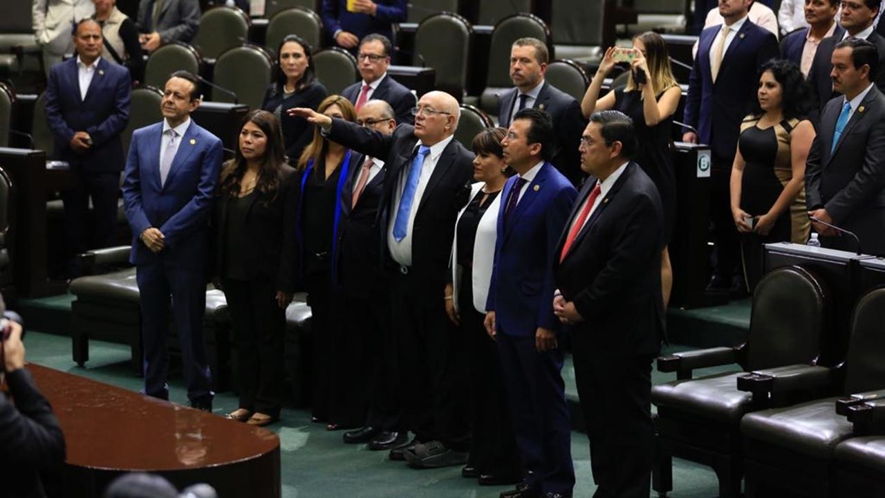 Diputados avalan como auditor superior a David Colmenares
