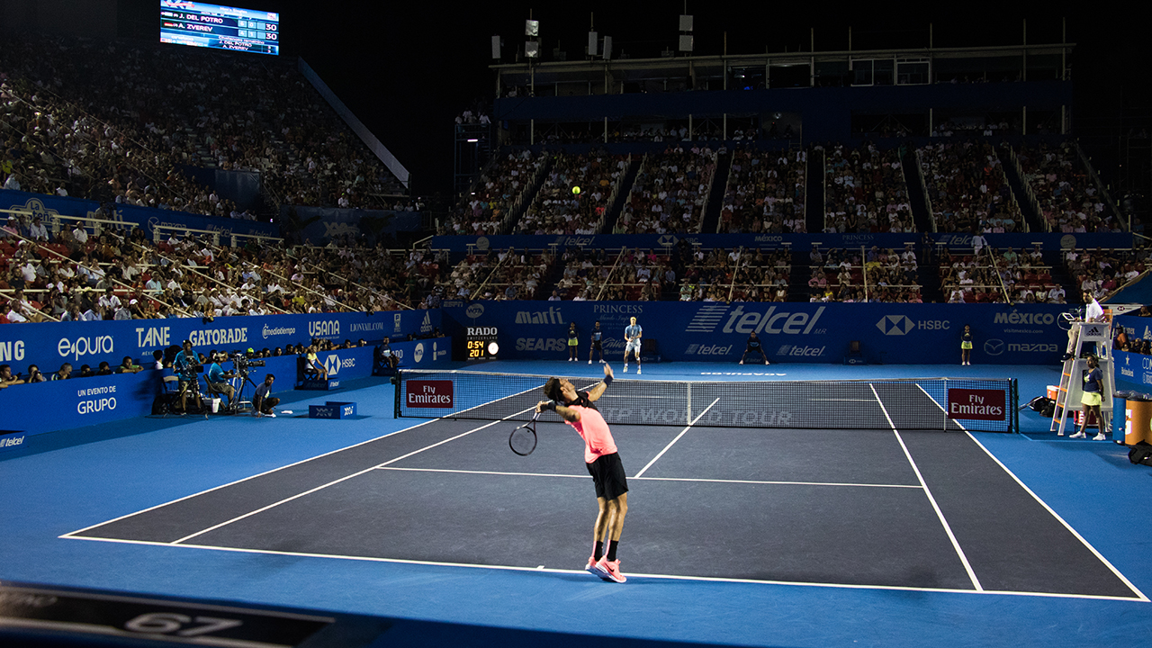 Anderson y Del Potro se enfrentarán en la final del Abierto Mexicano de Tenis