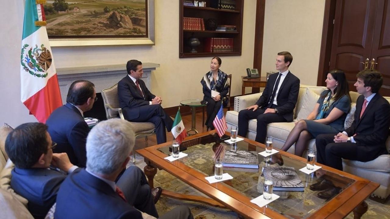 ¿De qué hablaron en su reunión Jared Kushner y Peña Nieto?