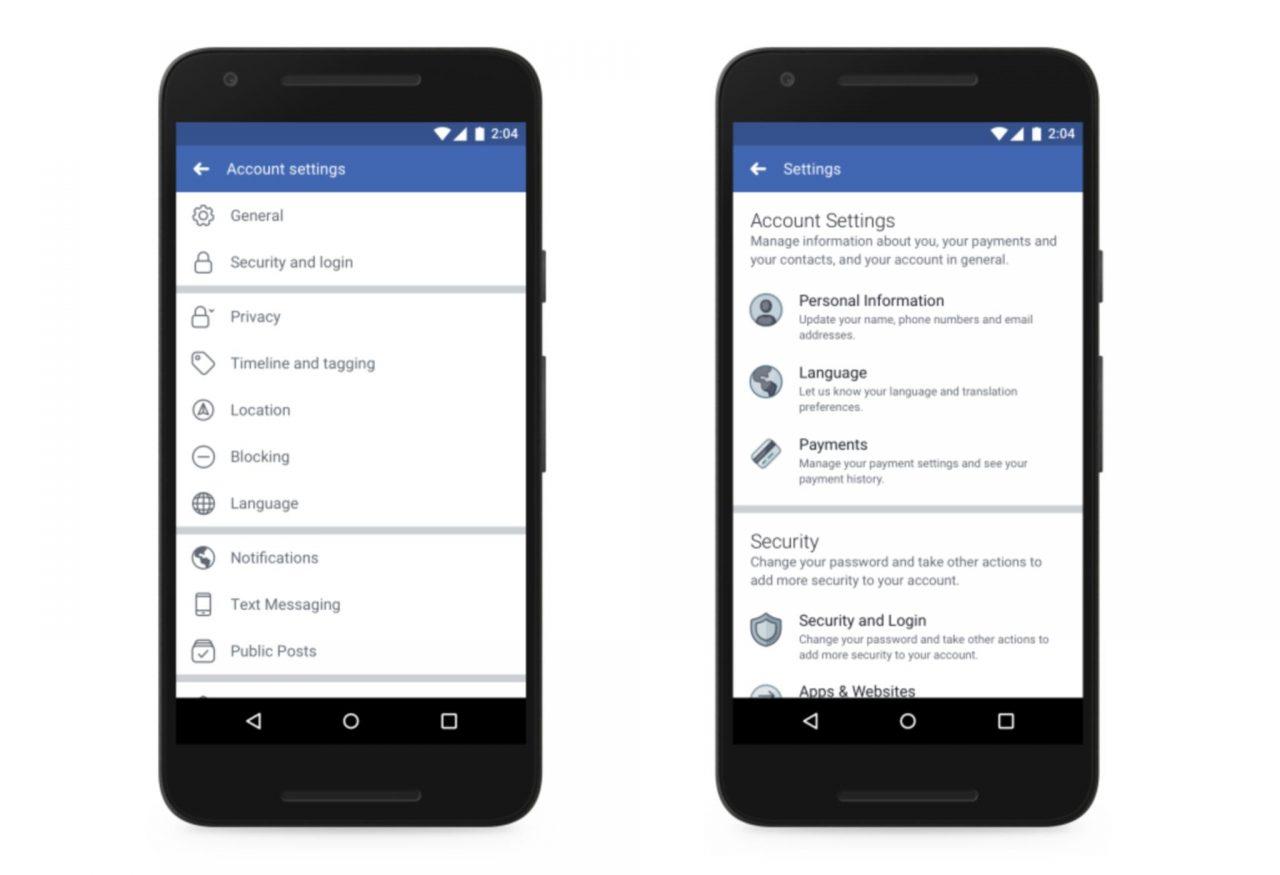 Así es como Facebook te dará más control sobre tus datos